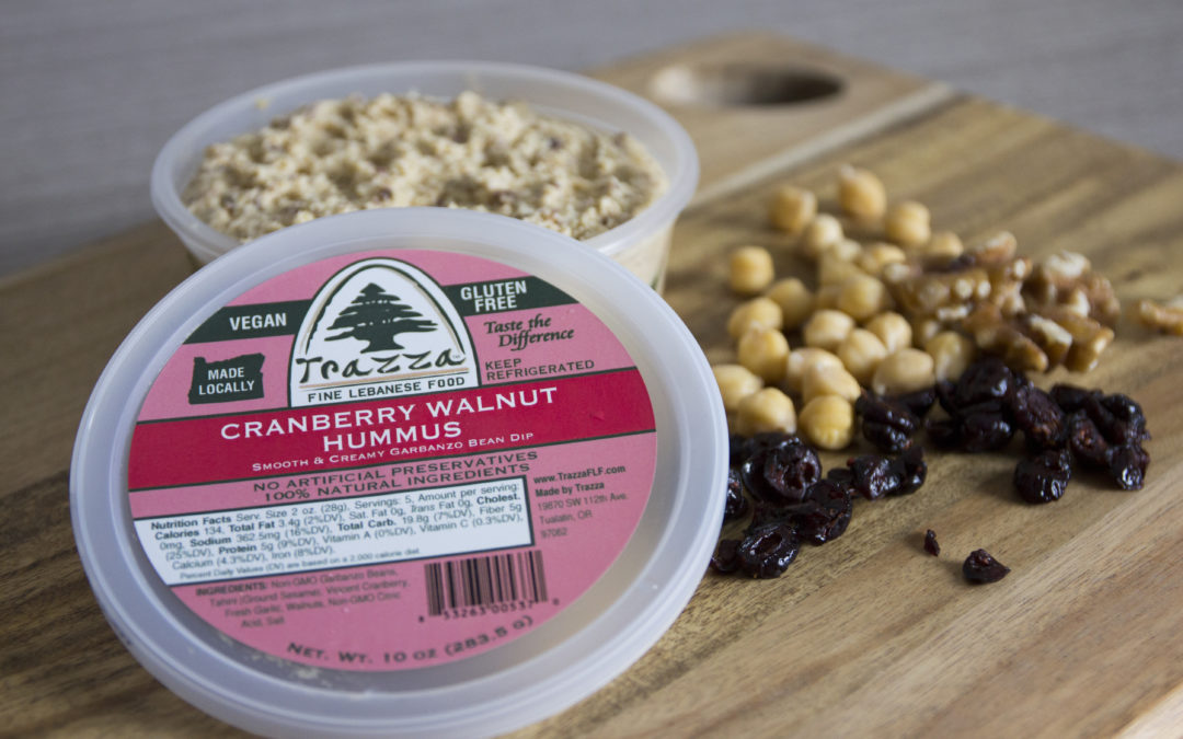 Cranberry Walnut Hummus