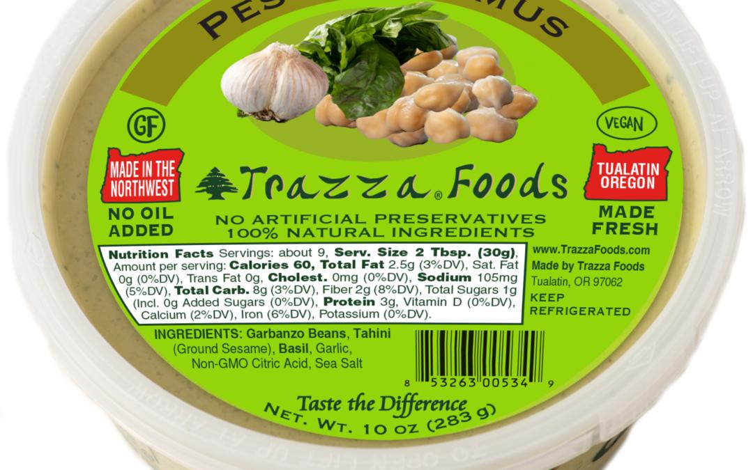 Pesto Hummus