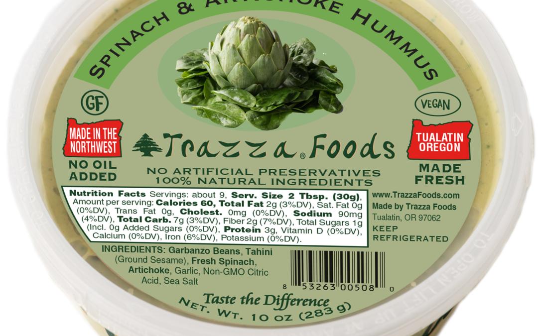 Spinach & Artichoke Hummus