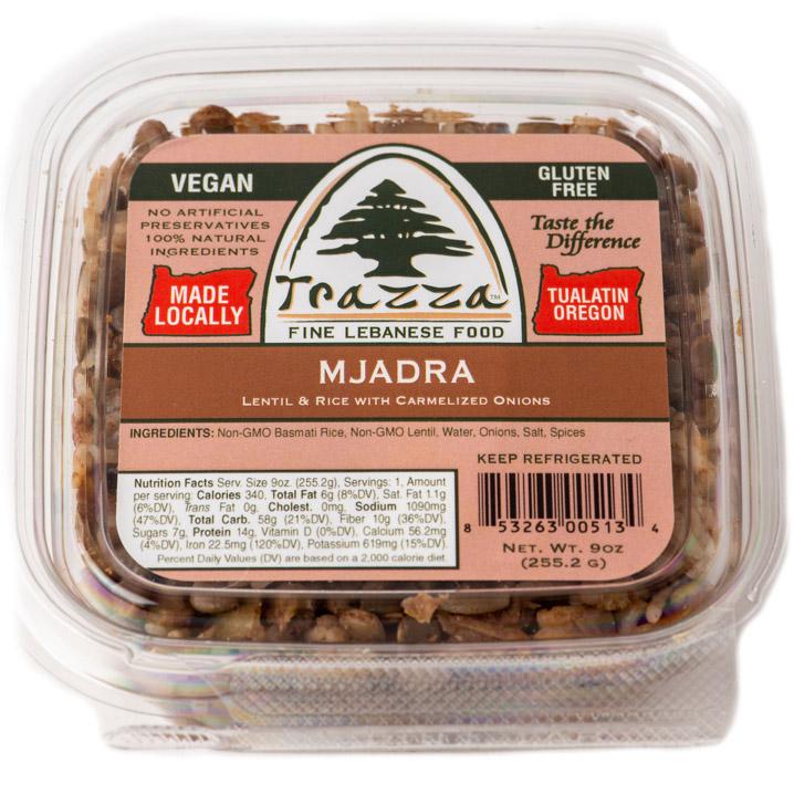 Mjadra Platter