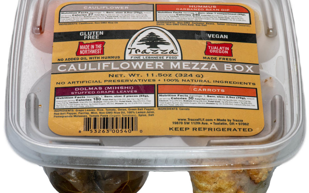Cauliflower Mezza Box