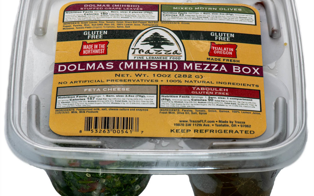 Dolma Mezza Box