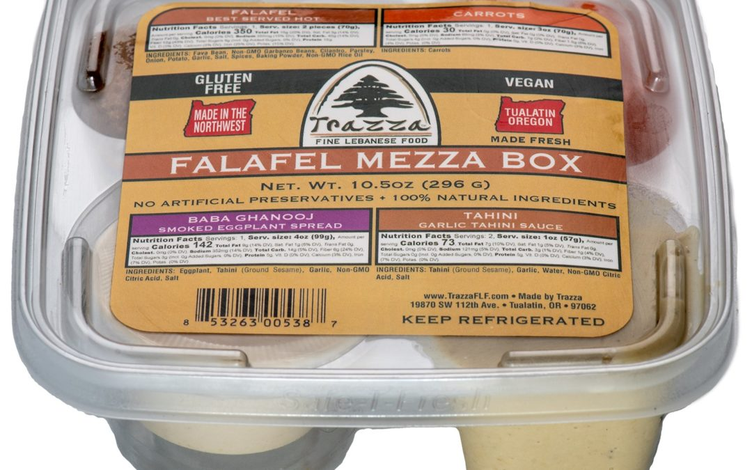 Falafel Mezza Box