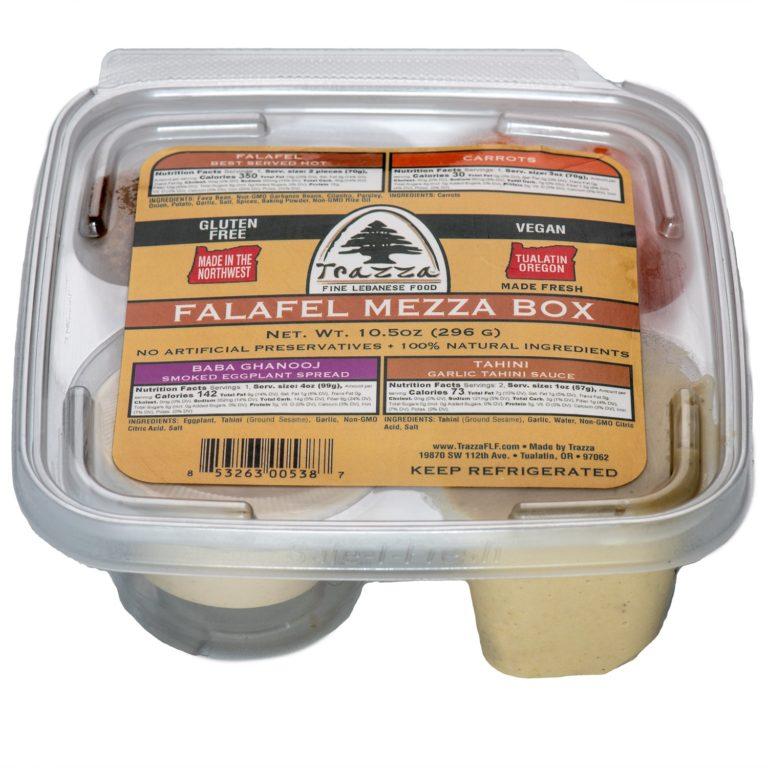 Falafel Mezza Box
