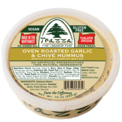 Garlic Chive Hummus
