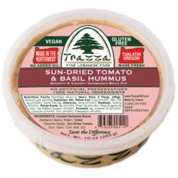 Sundried Tomato & Basil Hummus