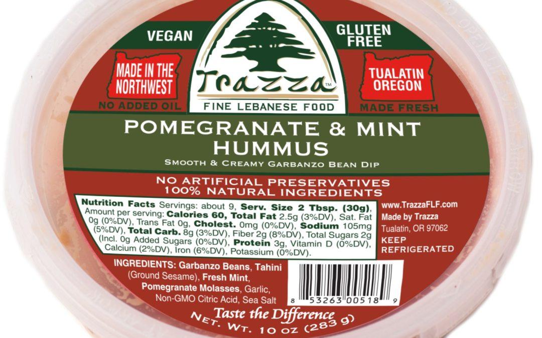 Pomegranate & Mint Hummus