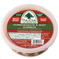 Pomegranate & Mint Hummus