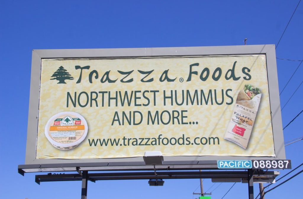 Have You Seen One of The Trazza Foods Billboards?