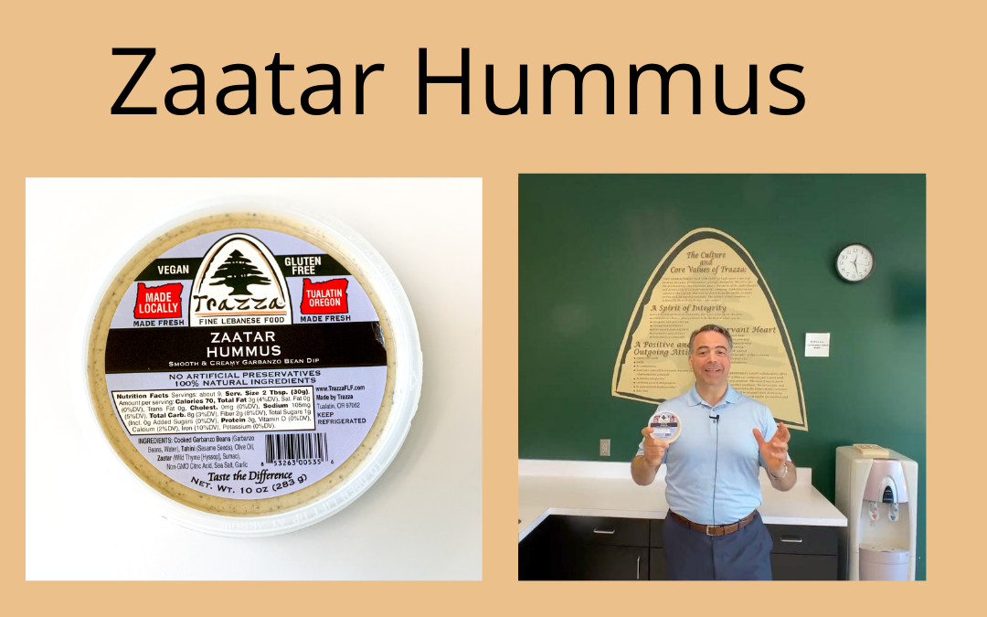 Zaatar Hummus – Trazza Video Update 8