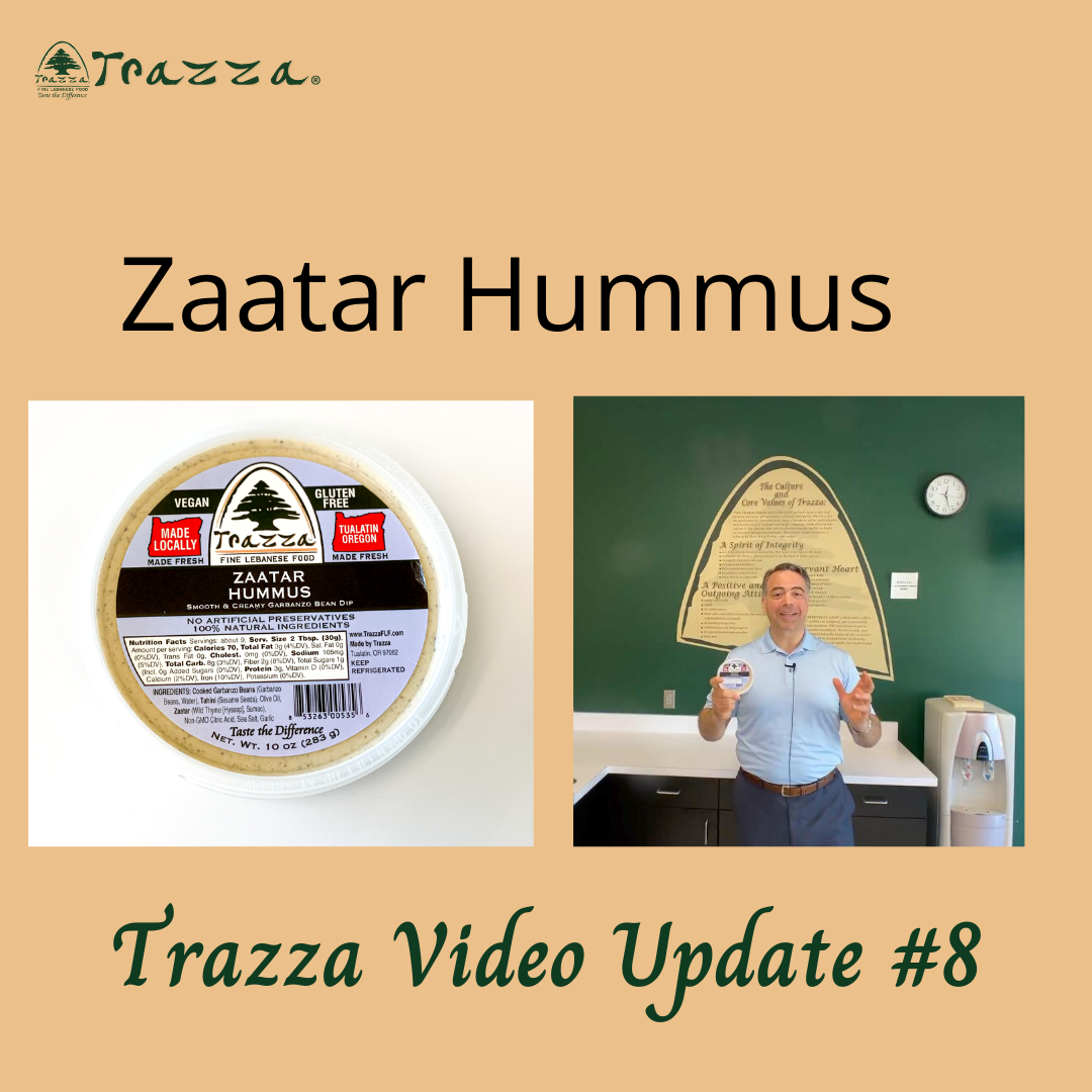 Zaatar Hummus - Trazza Video Update 8