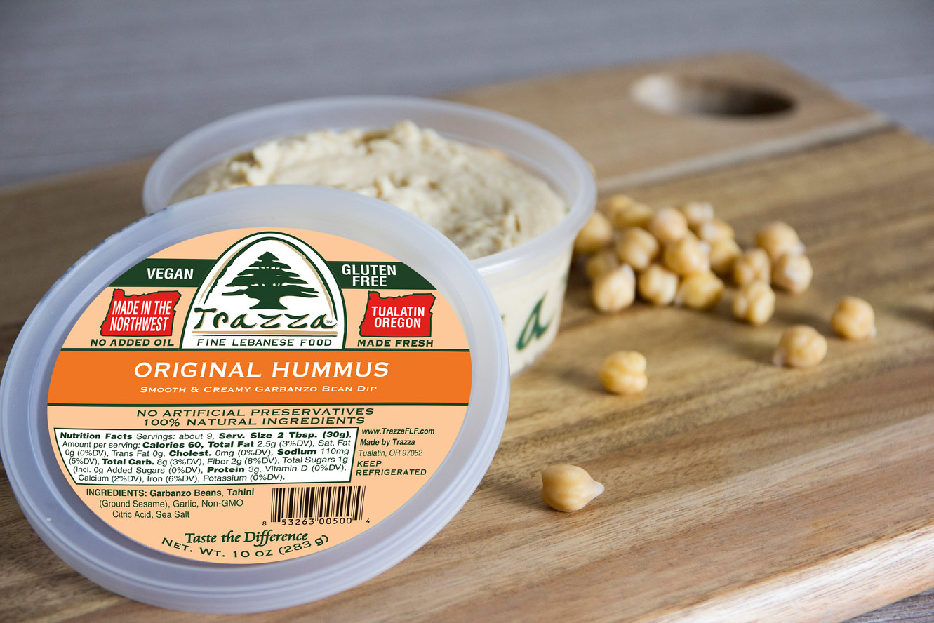 Original Traditional Lebanese Hummus
