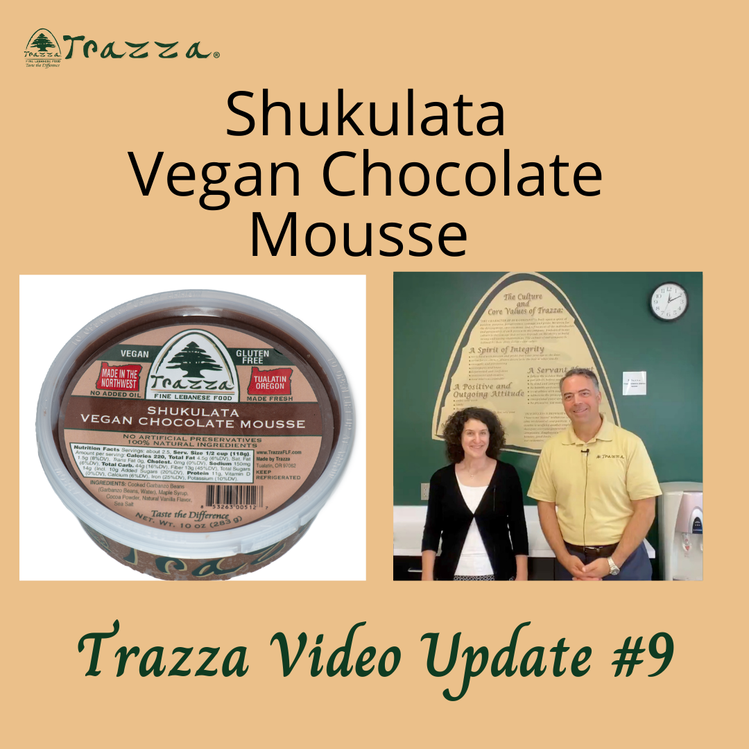Shukulata Vegan Chocolate Mousse - Trazza Video Update 9