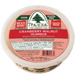 Cranberry Sweet Potato Crostini - The Recipe! Trazza Foods