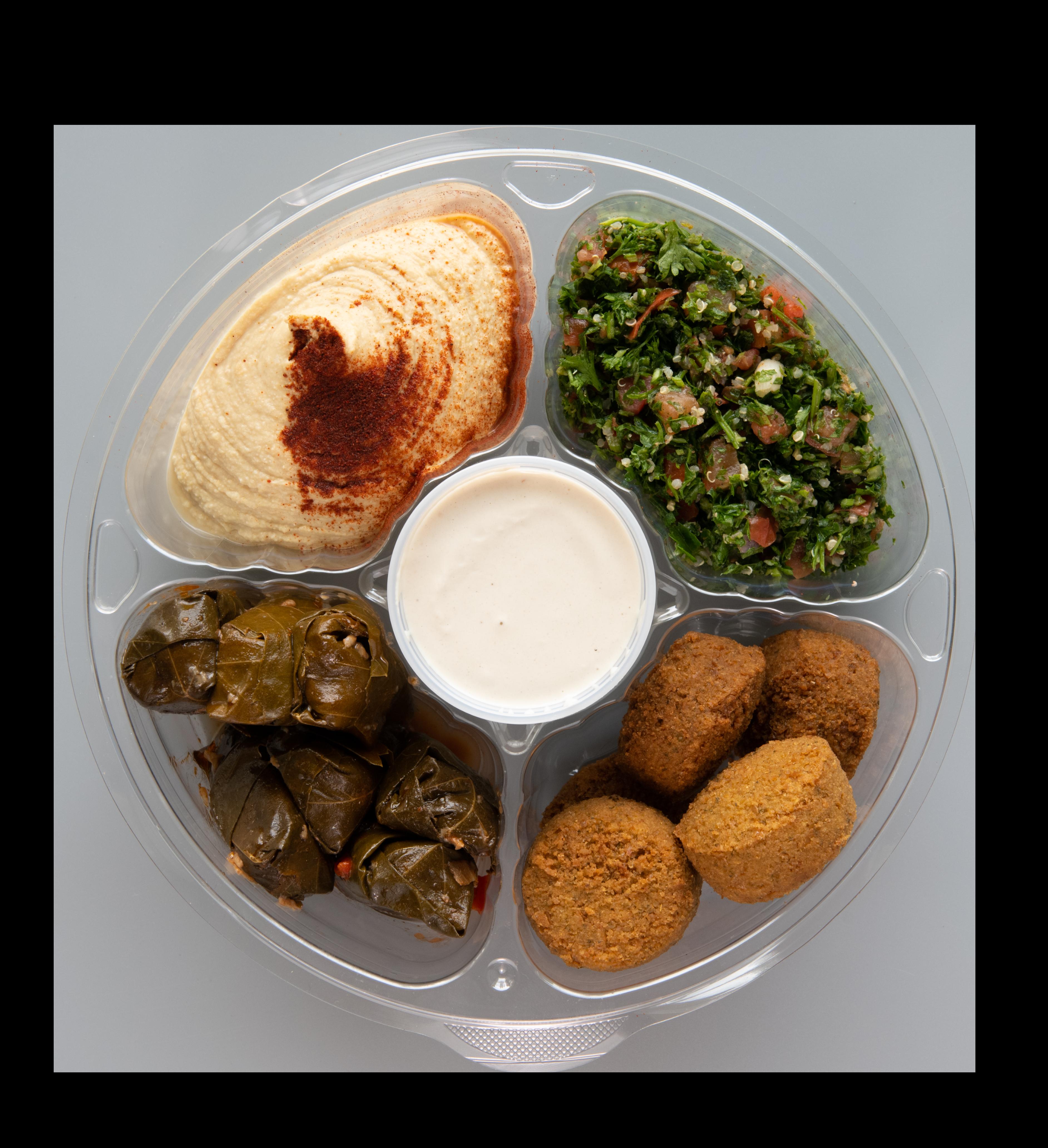 Trazza Mediterranean Family Meal